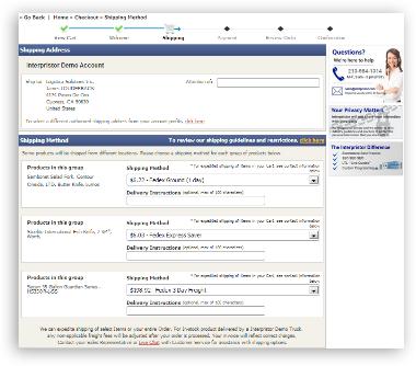 03 checkout process shipping Checkout Process