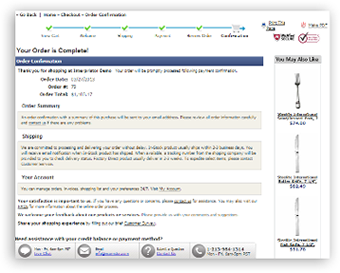 06 checkout process order confirmation Checkout Process