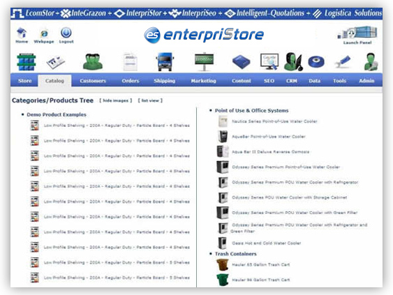 Catalog Product Tree Category / Products