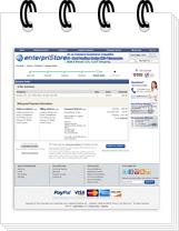 Checkout Process Website Features