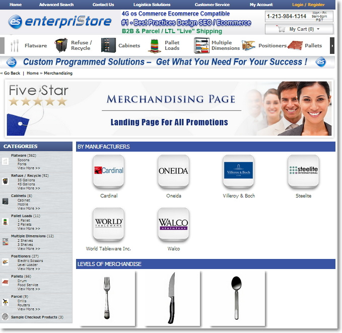 Main Page Landing Of All Merchandisng Pages Merchandising Pages