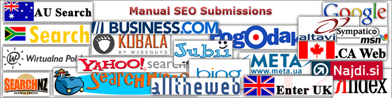 Manual SEO Submissions2 Site & Shop Engines