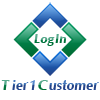 Tier 1 Customer login Distributor Login