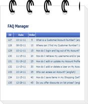 crm faq listing mini Admin Features