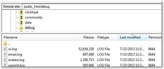 ecommerce logs audit trail1 Page Load Speeds