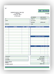 forms job invoice Orders