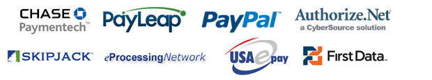 homepage processors Payment Modules