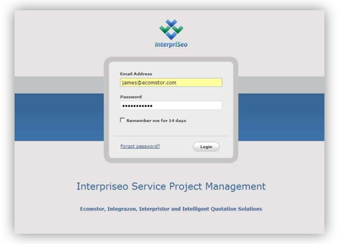 project management login Implementation Process