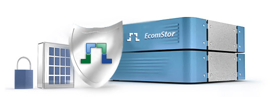 server security software with Ecomstor logo on Security & System
