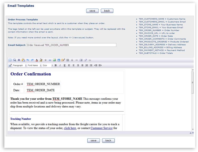 enterpriStore Mobile Ecommerce | Ecommerce Site Email Management ...