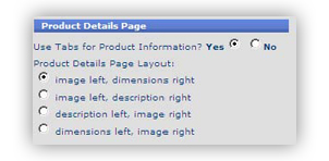 template 12 product detail pages Site Template Config