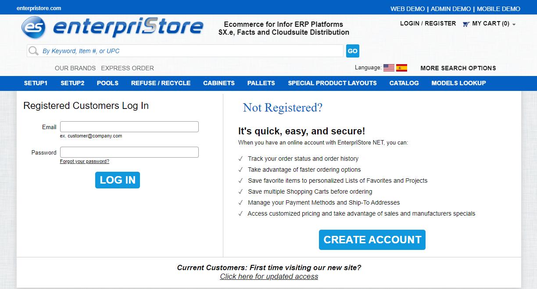 Login In Front End Website As That Customer Admin Menus Layout CSR
