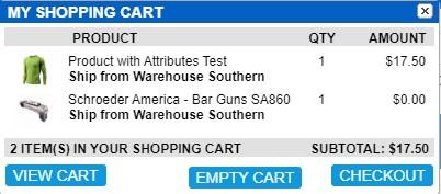 pop Shopping Cart